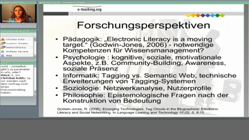 Still medium 2008 web 2 0 in der lehre panke wedekind good tags bad tags