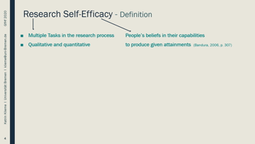 Still medium 108 klieme talk psychol factors in academic ed   research self efficacy